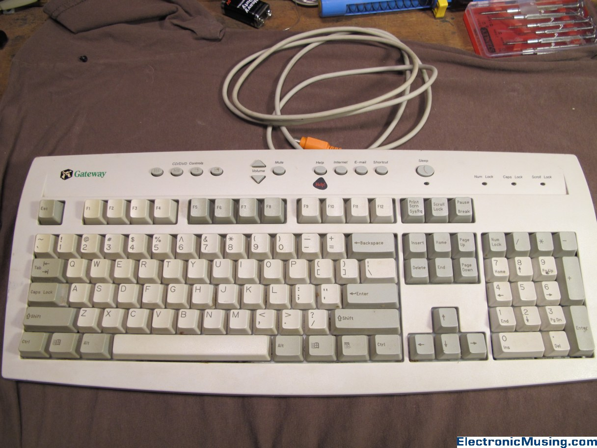 Donor Keyboard