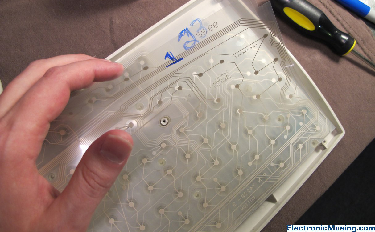 Donor Keyboard (Membrane Layers)